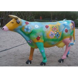 copy of VACHE EN RESINE ART...
